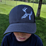 Logo hat one size fits all, hunt-tag buck
