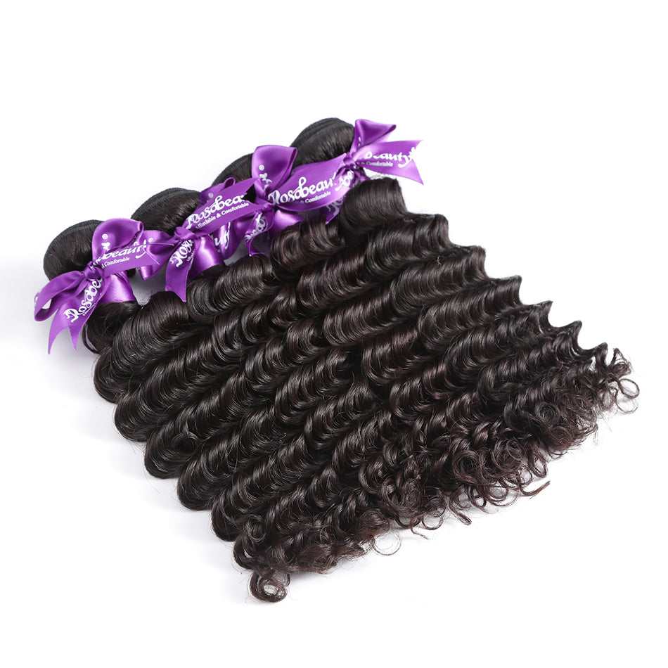 Deep Wave Curly Brazilian Remy Hair