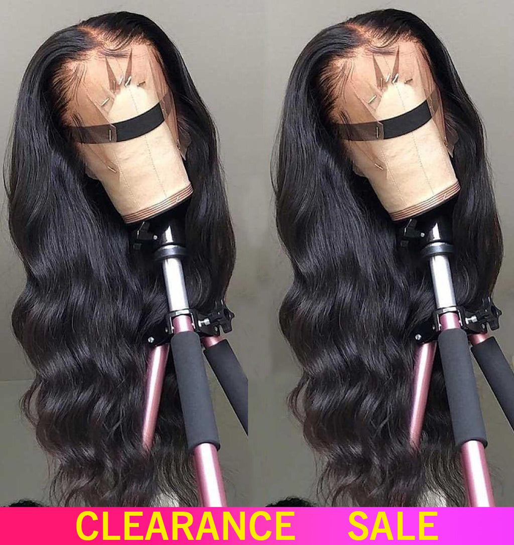 Lace Front Remy Free Part Brazilian Body Wave  With Baby Hair