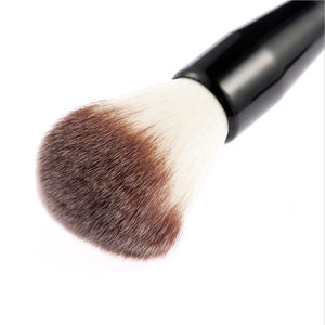 Pack of 3pcs Makeup Tools Brush Set with Foundation Brush + Blush Brush + Puff