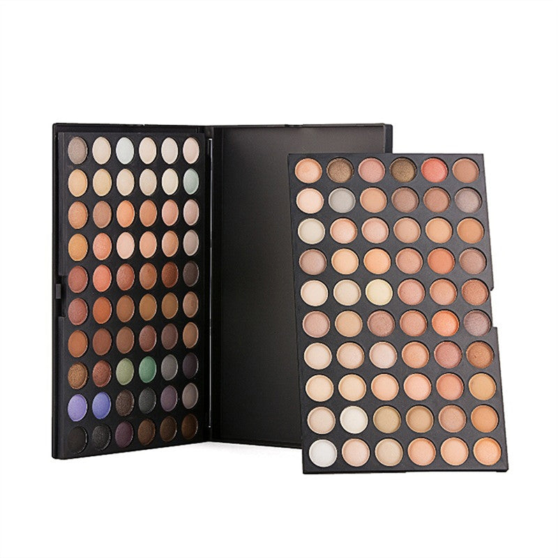 120-Colors Eye Shadow Makeup Palette Eyeshadow Pallete Set Color Combination for Big Eye Make Up