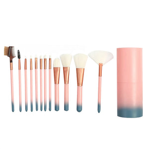 12 Pcs Makeup Brush Set Premium Professional Cosmetics Makeup Brushes Face Powder Brush Makeup Brush Kit