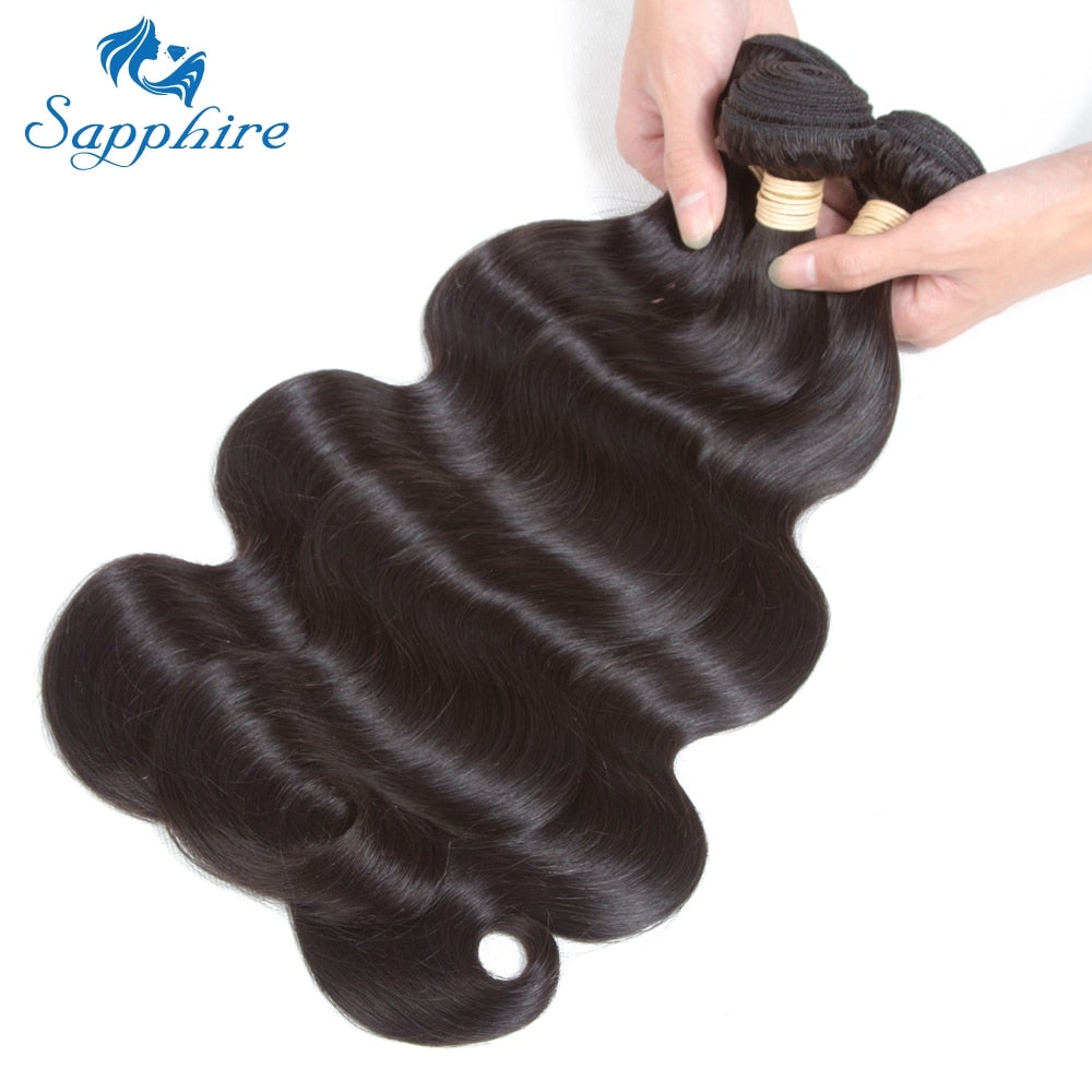 Brazilian Hair With Lace Closure Body Wave