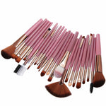 25pcs Cosmetic Makeup Brush Blusher Eye Shadow Brushes Set Kit