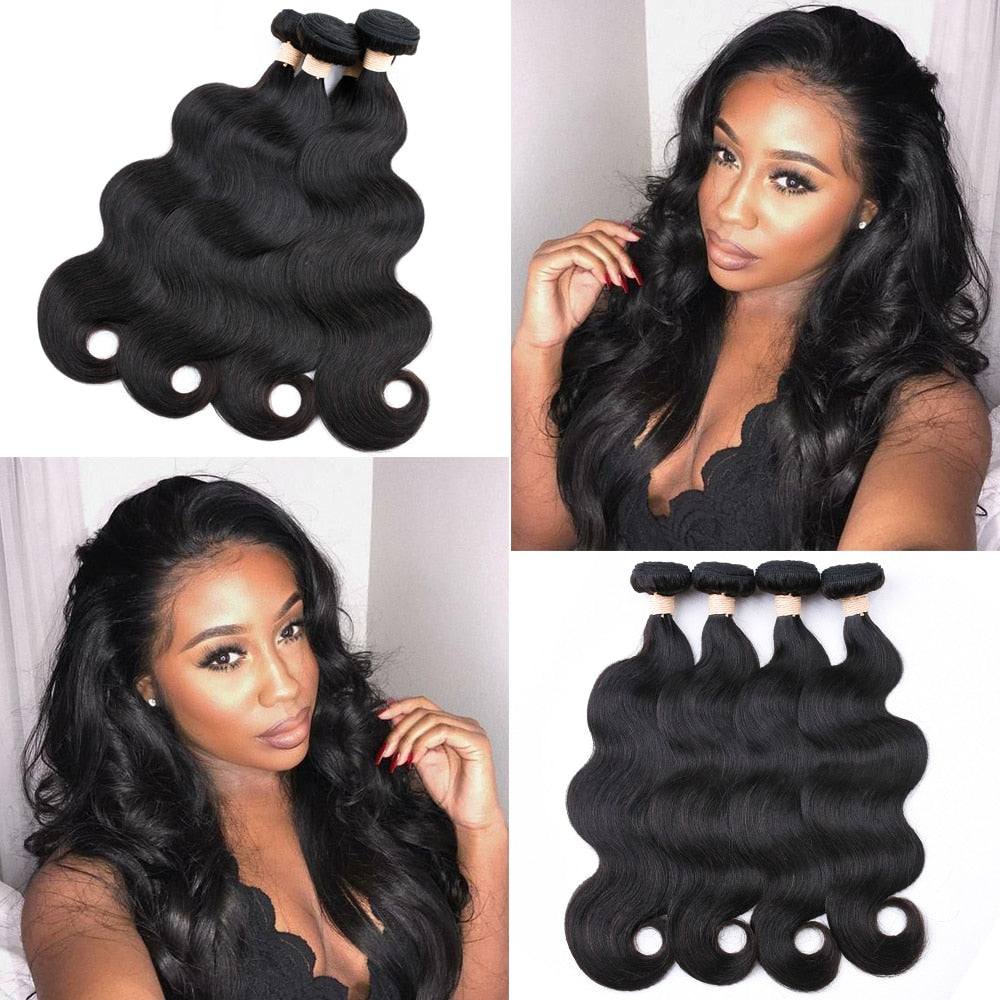 Beaudiva Body Wave Bundles Malaysian Hair Bundles 100% Human Hair