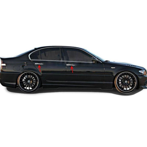 4st Chrome Deurhendels cover set Bmw 3 Series E46 1998-2003 - slimshoppen