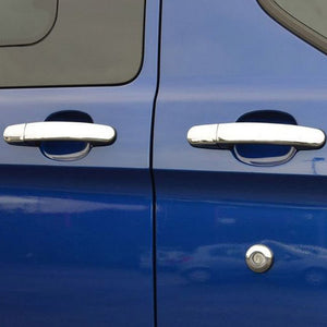 3st Chrome Deurhendels cover set Ford Custom 2012- en hoger - slimshoppen