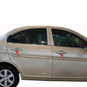 4st Chrome Deurhendels cover set Hyundai Accent Era 2005-2011 - slimshoppen