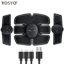 USB Charger EMS Abdominal Muscle Stimulator Trainer Electric Cellulite Massager Body Shaping Massage Slim Belt - slimshoppen