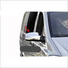 Spiegelkappen-mirror cover Mercedes Vito W639 Facelift glans ABS chroom 2010-2014