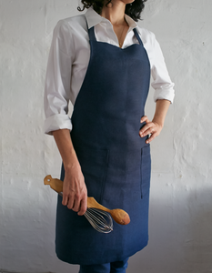 Twill Apron Eco-Friendly Hemp and Recycled Polyester
