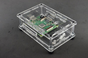 ProtoStax Enclosure for Raspberry Pi A+ - Fully Closed Configuration