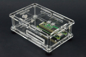ProtoStax Enclosure for Raspberry Pi Zero - Fully Closed Configuration