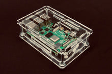Load image into Gallery viewer, ProtoStax Enclosure for Raspberry Pi B+ / Model 4B - Fully Closed Configuration