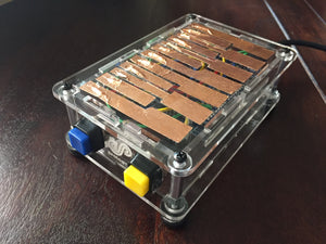 ProtoStax Enclosure for Arduino - Multi-Octave Portable Capacitive Touch Piano Project