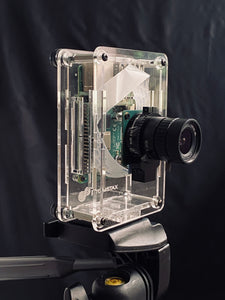 ProtoStax Camera Kit for Raspberry Pi High Quality Camera with ProtoStax Enclosure for Raspberry Pi B+/ Model 4B