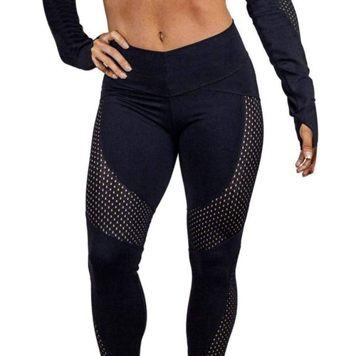 Azera Seamless Mesh Leggings - ODDTOD