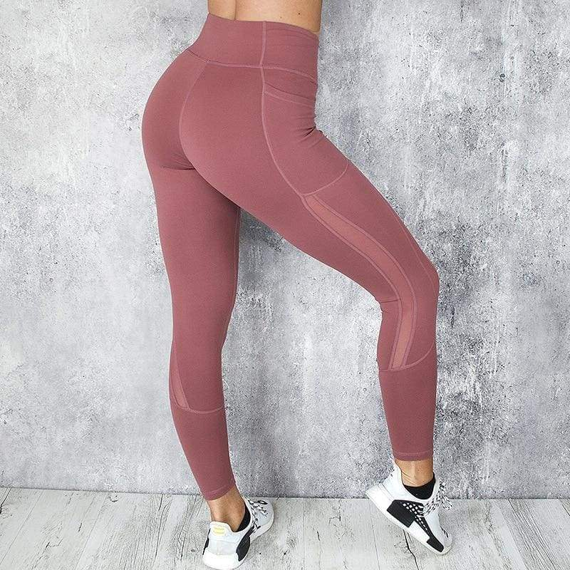High waist Womens leggings with side pocket Available In 3 Colours - ODDTOD