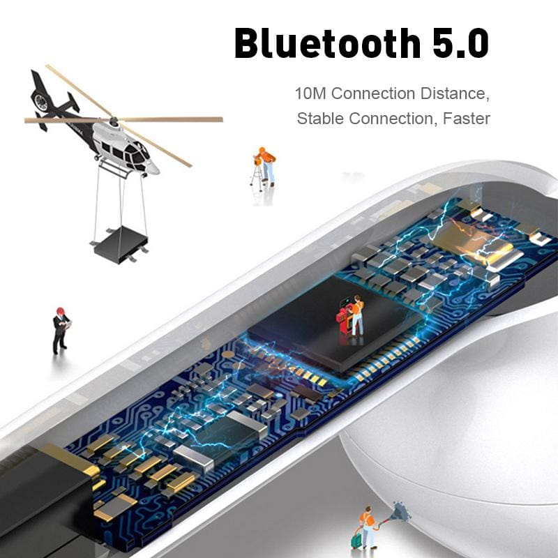 i12 tws Bluetooth Earphone Wireless Headset Touch Control, Fast Shipping &  UK Support