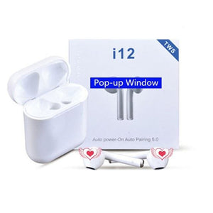 i12 tws Bluetooth Earphone Wireless Headset Touch Control, Fast Shipping & UK Support - ODDTOD