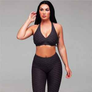 LuLulemon Style Ripple 2020 Sports Bra And Leggings In 6 Colours - ODDTOD