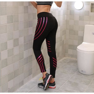 Stripe Skinny Fit Leggings - ODDTOD
