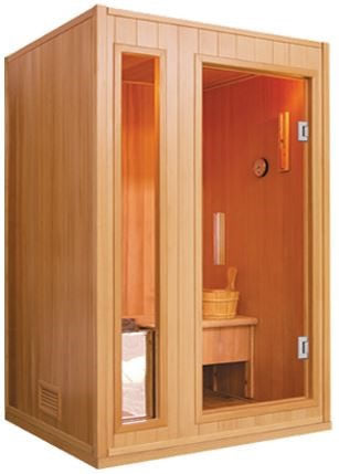 SunRay Baldwin Traditional 2-Person Sauna