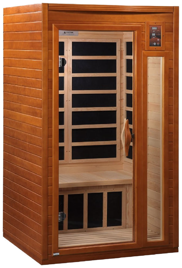 Dynamic Saunas Barcelona Edition DYN-6106-01 Low EMF Far Infrared 1-2 Person Sauna