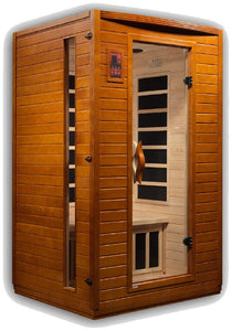 Dynamic Saunas Versailles Edition DYN-6202-03 Low EMF Far Infrared 2 Person Sauna
