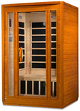 Dynamic Saunas San Marino Edition DYN-6206-01 Low EMF Far Infrared 2 Person Sauna