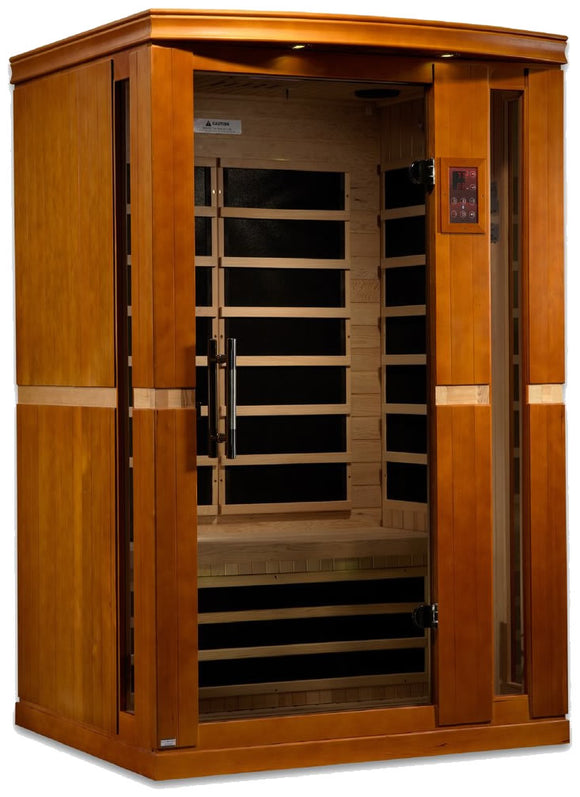 Dynamic Saunas Vittoria Edition DYN-6220-01 Low EMF Far Infrared 2 Person Sauna