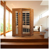 Dynamic Saunas LeMans Edition DYN-6225-02 Low EMF Far Infrared 2 Person Sauna