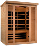 Golden Designs DYN-6315-02 Low EMF FAR Infrared 3 Person Sauna
