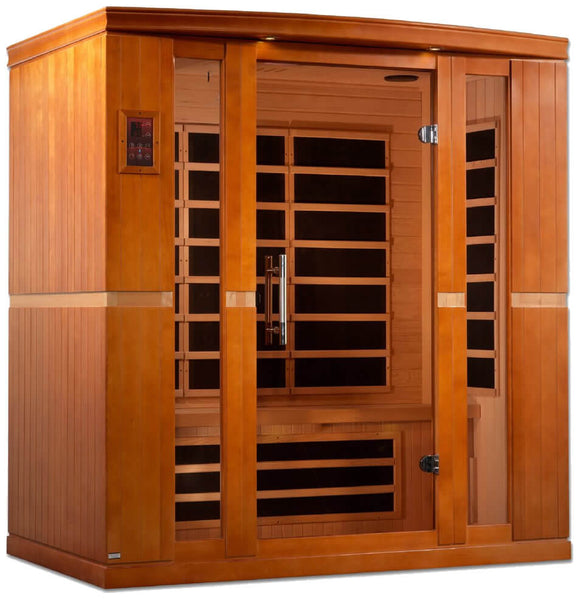 Dynamic Saunas Bergamo Edition DYN-6440-01 Low EMF Far Infrared 4 Person Sauna