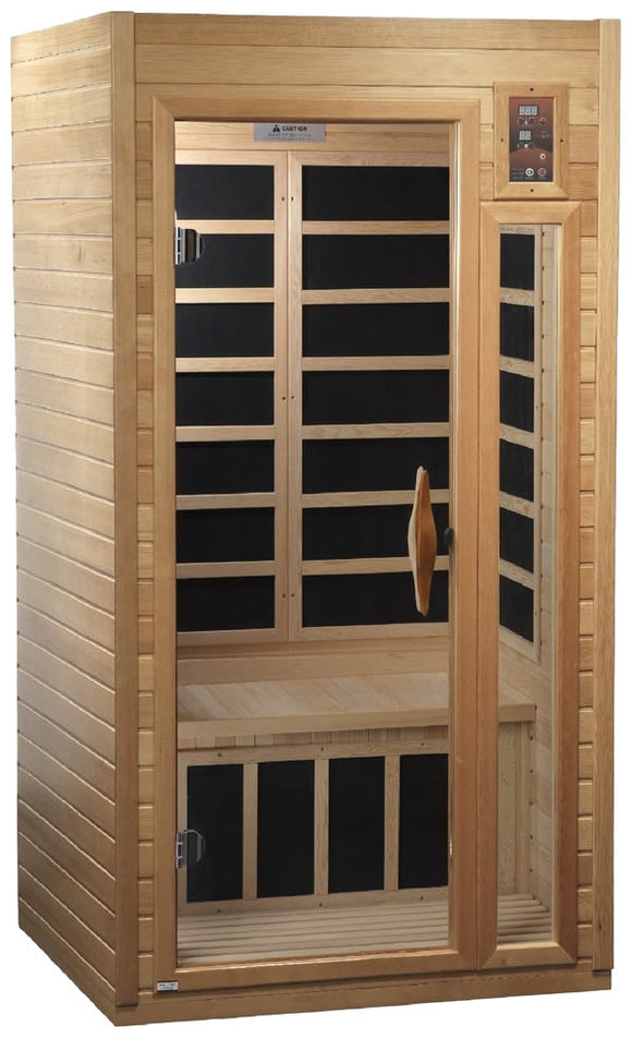 Golden Designs GDI-6106-01 Low EMF FAR Infrared 1-2 Person Sauna