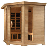 Golden Designs GDI-6445-01 Near Zero EMF FAR Infrared 4-5 Person Sauna
