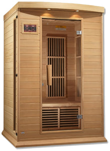 Maxxus MX-K206-01 Low EMF FAR Infrared Canadian Hemlock 2 Person Sauna