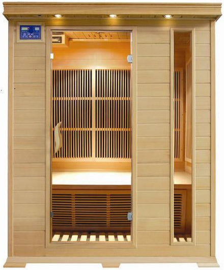 SunRay Aspen 3-Person Sauna (Available to ship on 5/10/20)