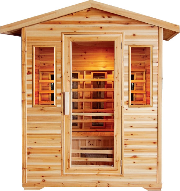SunRay Cayenne Outdoor 4-Person Infrared Sauna
