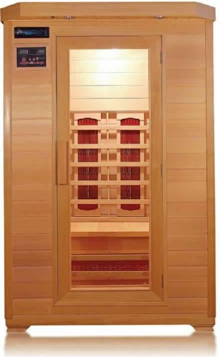 SunRay Kensington 2-Person Sauna