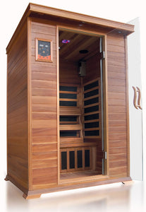SunRay Sierra 2-Person Infrared Sauna