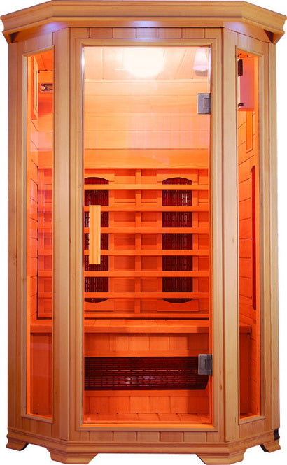 SunRay Heathrow 2-Person Infrared Sauna
