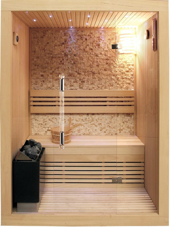SunRay Rockledge Traditional 2-Person Sauna