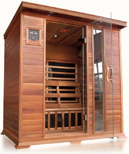 SunRay Savannah 3-Person Infrared Sauna