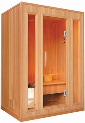 SunRay Southport Traditional 3-Person Sauna