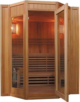 SunRay Tiburon Traditional 4-Person Sauna