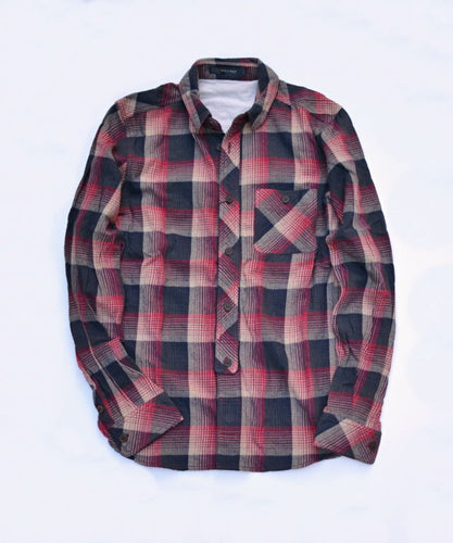 70's Anttique Check Shirt
