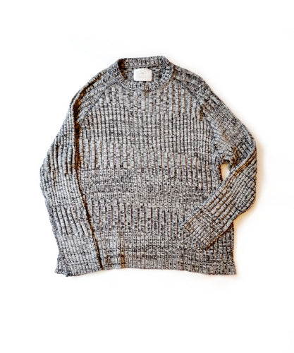 RIB BORDER KNIT(5G US COTTON)