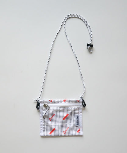 FABRIC/DUNNO FLAT 2WAY POUCH S