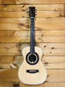 Portland Acoustic Guitar Indian Rosewood & Spruce Morning Glory Natural w/ Case